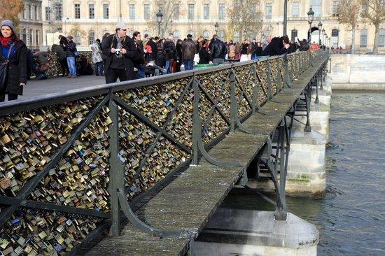 La Seine : River Seine - pont des arts