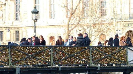 La Seine : Pont des Arts at the Seine River
