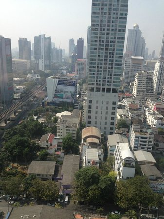 W Bangkok: View from room