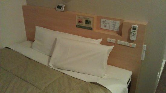 Super Hotel Asakusa : 雙人房間