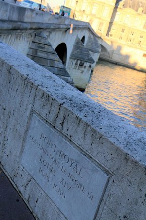 La Seine : Pont Royal