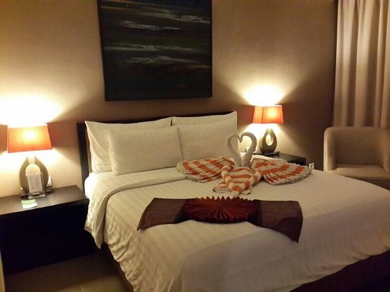 100 Sunset Hotel Managed by Eagle Eyes: foto dekorasi kamar saya menginap