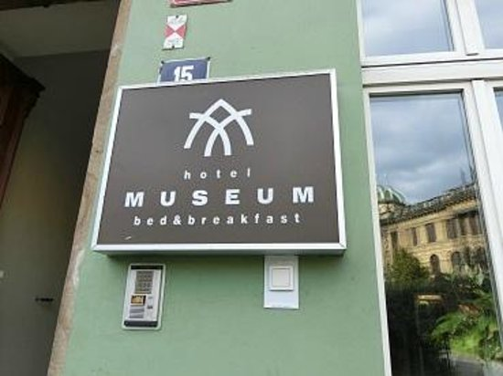 Museum Hotel: 入り口