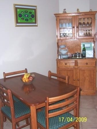 Southern River B&B: Shared dining room