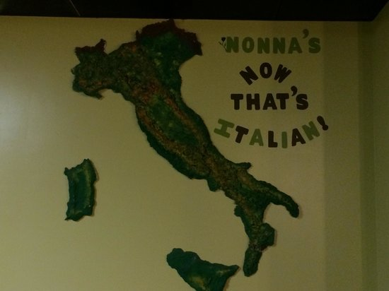 Nonna's: 3D Map of Italy
