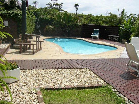 Kilkerran Guest House: Pool area