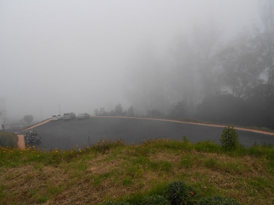 Accord Highland Hotel Ooty : Parking area