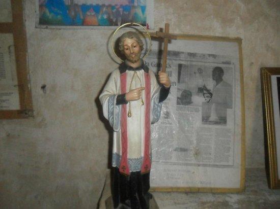 Portuguese Church: Statue of St. Francis Xavier