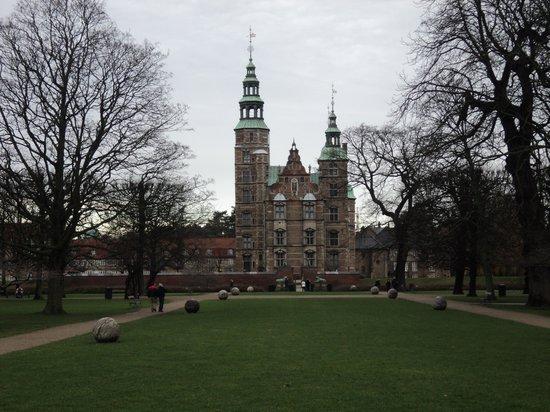 Castillo de Rosenborg: vista dal parco