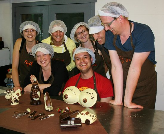 Sjolaa: Workshop I love chocolate