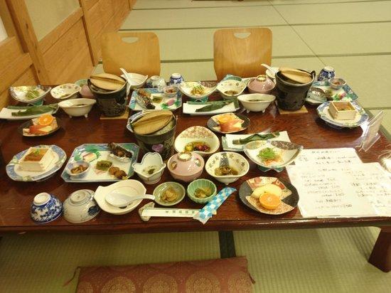 Ganiba Onsen : dinner