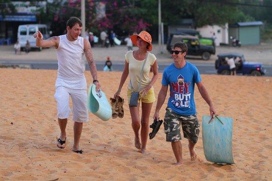 Red Sand Dunes: после продолжительной торговли санки взяты напрокат
