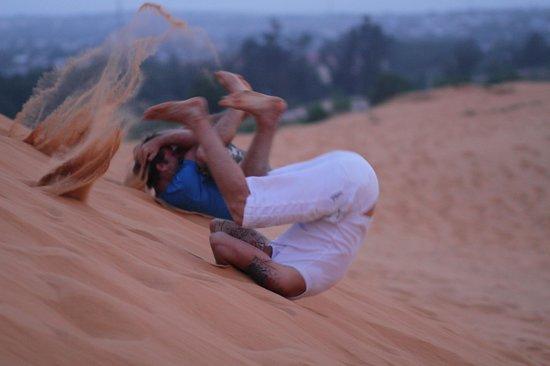 Red Sand Dunes: лайвхак