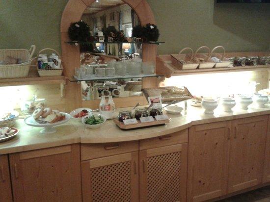Hotel Heidelberg: buffet colazione