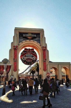 Universal Studios Japan: Entrance