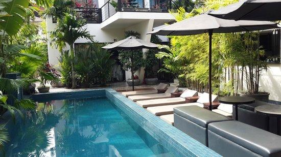 Kia Kaha Villa: The Swimming Pool