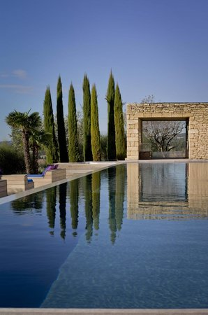 Domaine des Andeols : Pool View