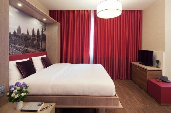 アパートホテル アダージョ モスクワ パヴェレスカヤ