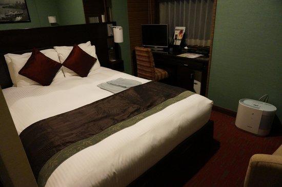 Hotel Trusty Tokyo Bayside: ダブルベッド