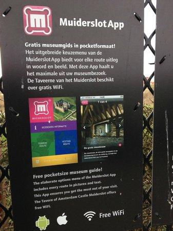 Burg Muiderslot (Kasteel Muiderslot): The Muiderslot app