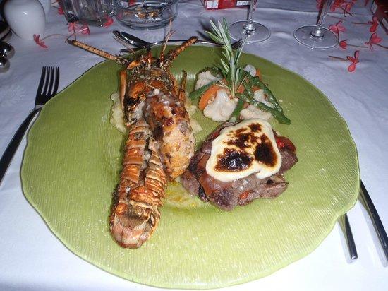 Grand Bahia Principe El Portillo: Fantástica cena romántica para parejas, muy recomendable