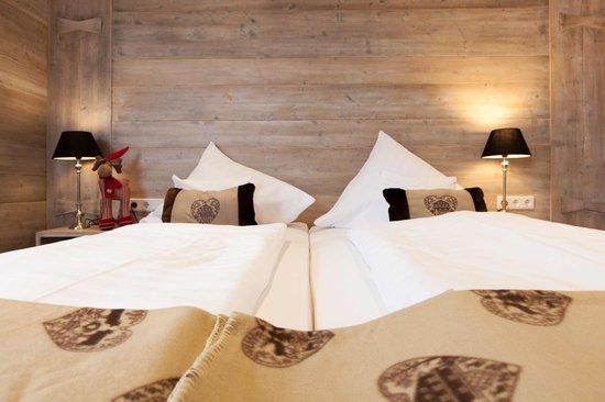 Hotel Nuhnetal: Kopfteil Familienzimmer