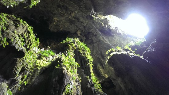 Fairy Caves: looking up!