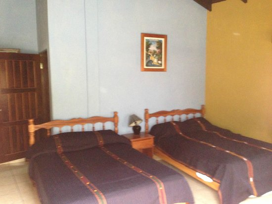 Hotel Rosalila: room #9 double beds
