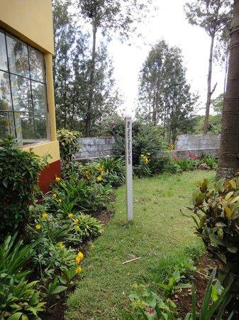 Kibo Hotel : The garden