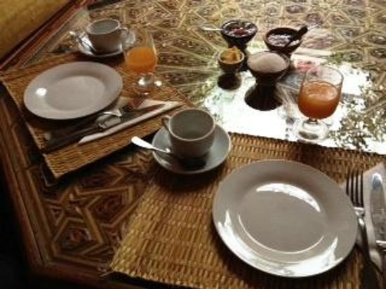 Riad Bibtia : Breakfast