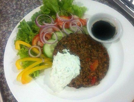 Fitness Cafe : Beanburger, so yummie!