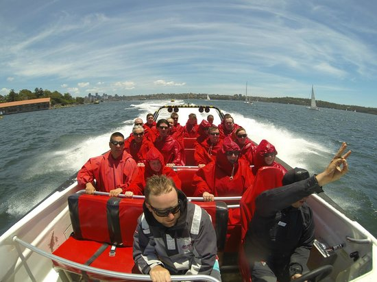 Oz Jet Boating Sydney Harbour: The Calm Before the Storm