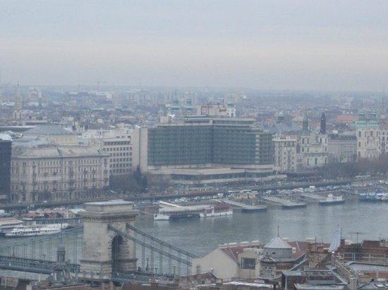 Budapest Marriott Hotel: View from Fisherman's Bastion