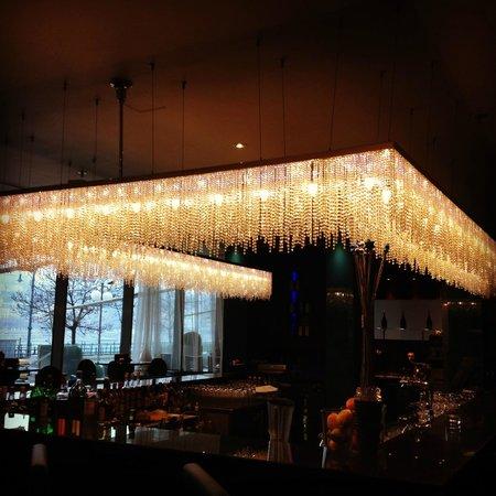 Budapest Marriott Hotel: Aqua Lounge Bar