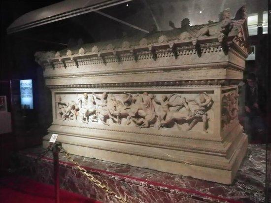 Archäologisches Museum Istanbul (İstanbul Arkeoloji Müzesi): アレキサンダー大王の棺