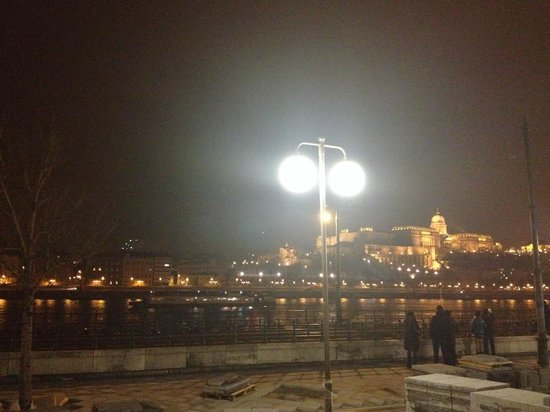 Budapest Marriott Hotel: View of Buda's Palace
