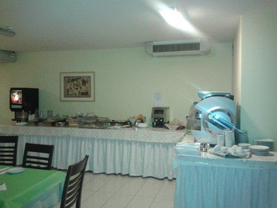 Hotel Main Street: buffet colazione