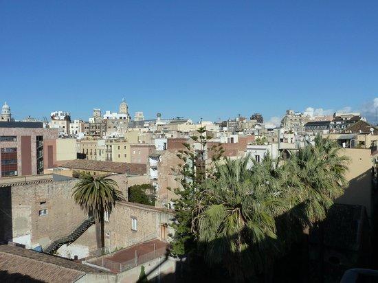 Casa Camper Hotel Barcelona: vue de la terrasse