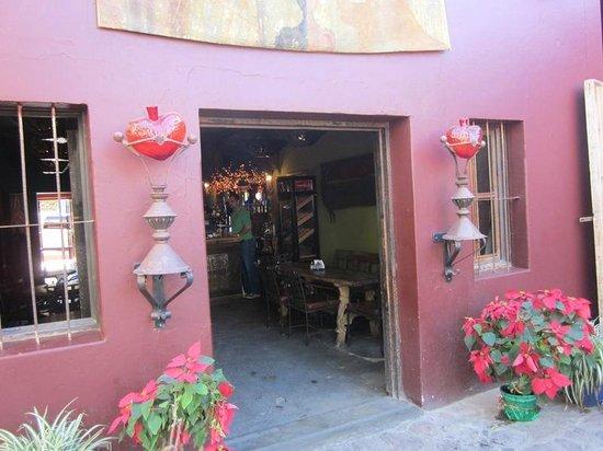 Hotel California: el patio interno