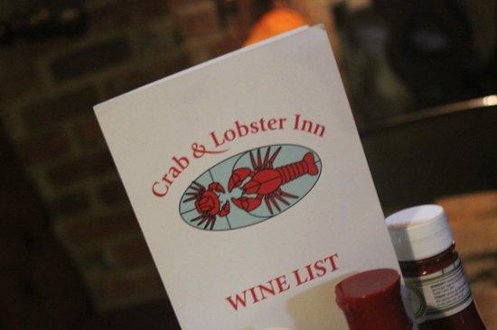 The Crab & Lobster Inn: Crab & Lobster