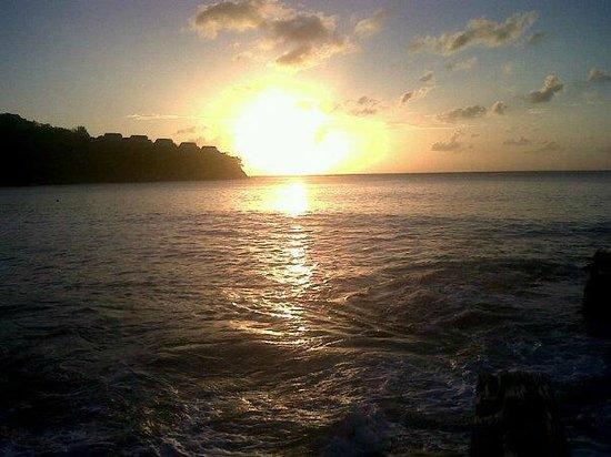 Sandals Regency La Toc Golf Resort and Spa: Beautiful sunset from La Toc