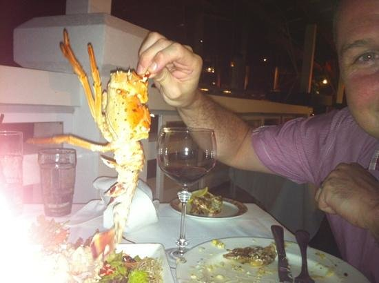The Cliff Restaurant & Bar : Seafood sharing platter (or whats left of it!)