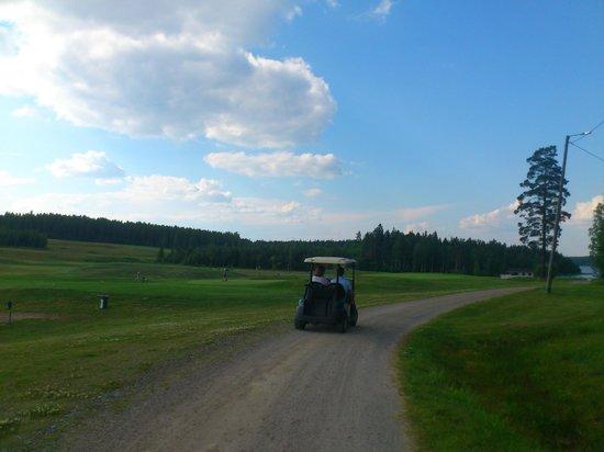 Lomakeskus Revontuli : Golf course