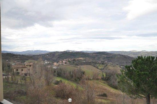 Mamiani Hotel Urbino : Vista dalla camera