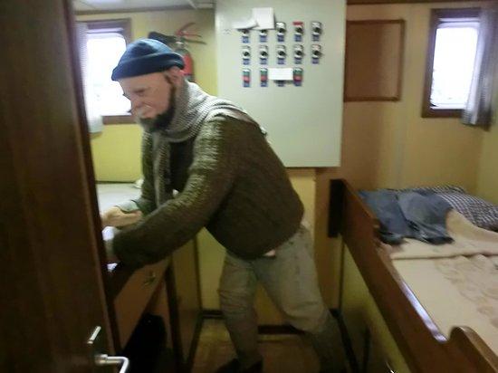 Museumschip Amandine : Il capitano