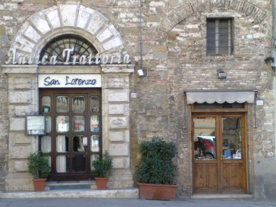 Antica Trattoria San Lorenzo : la trattoria san lorenzo