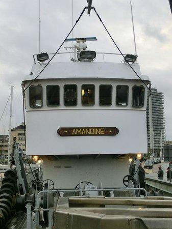 Museumschip Amandine : Il davanti
