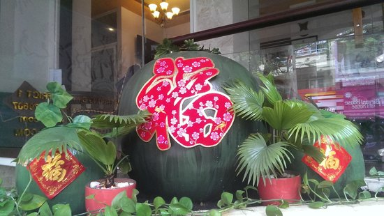 Little Saigon Corner Boutique Hotel: Chinese New Year Decoration