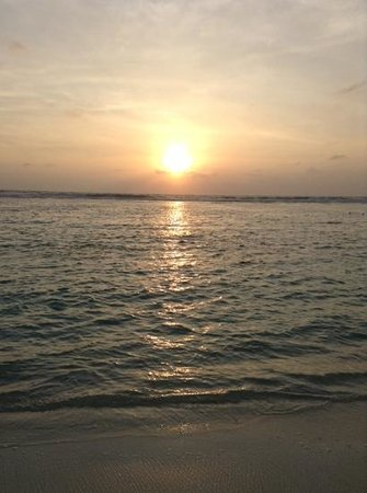 Le Vieux Nice Inn: sunrise in Hulhumale