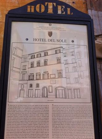 Albergo del Sole Al Pantheon: This hotel boasts that it is the oldest hotel in Rome.